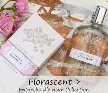 Entdecken Sie die neuen Naturparfum Serien von Florascent bei www.bio-naturwelt.de