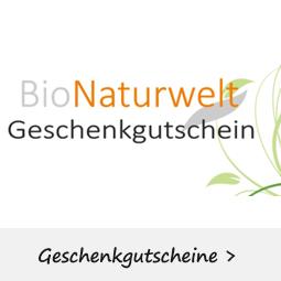Geschenkgutschein kaufen in der BioNaturwelt und verschenken.