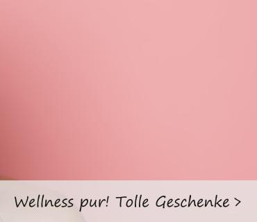 Wellness Geschenke für die Frau - eine wohltuende Entspannung.