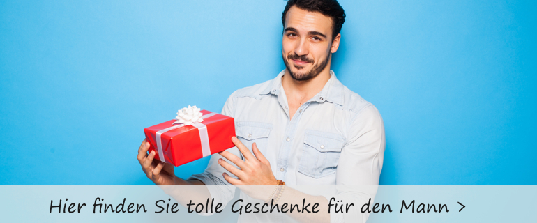 Sie suchen ein pflegendes Geschenk für Ihre Mann, Bruder oder Vater?