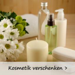 Verschenken Sie doch mal ein Kosmetikset in Naturkosmetik Qualität.