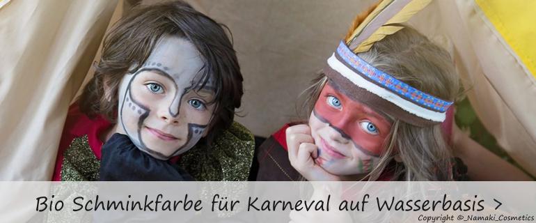 Namaki Kinder Schminkset für Fasching, Karneval und einen Kindergeburtstag.