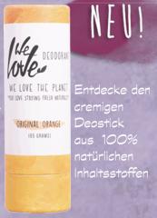 We love the Planet Creme Deostick aus 100% natürlichen Inhaltsstoffen