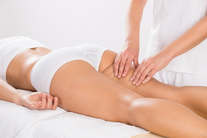 Massage bei Cellulite