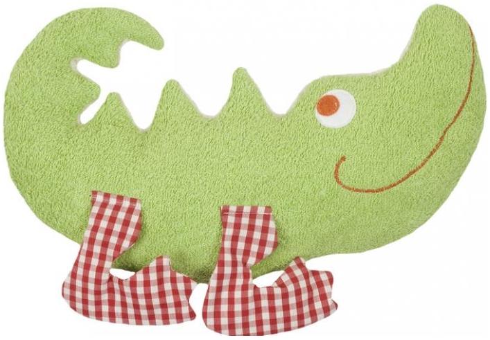 Organic Spiel- und Stofftier Krokodil