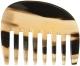 Kostkamm Afrokamm Horn Lockenkamm 10 cm
