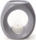Primavera Keramik Duftlampe taupe