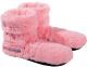 Fußwärmer Wärme Slippies Hot Boots Deluxe rosa mit Inlett