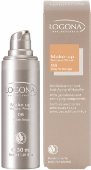 Logona Make up Natural Finish 5 warm beige 30ml