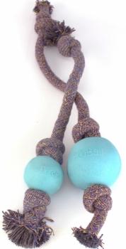 Beco Hunde Wurfspielzeug Ball mit Seil