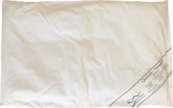 Flaches Babykissen mit Schafwollfüllung | 40x60cm
