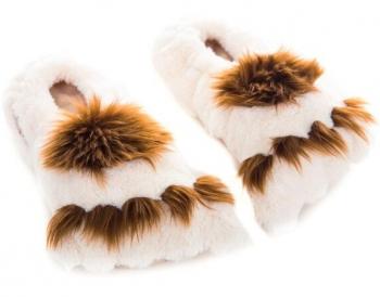 Habibi Plush Wärme Hausschuhe Tatzen Big Foots