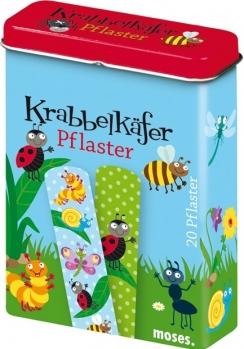 20 Kinderpflaster Käfer