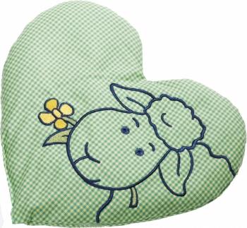 Rapssamenkissen Herz grün