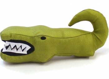 Beco Krokodil Stofftier für Hunde mit Quitschie