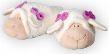 Schaf Plüschtier Hausschuhe Katie