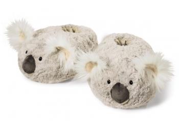 Lustige Plüsch Hausschuhe Koala