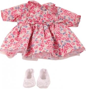 Götz Puppenkleid Roses und Schuhe 30-33 cm