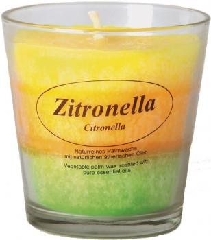 Duftkerze im Glas Zitronella