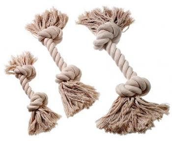 Baumwollknoten beige 37 cm
