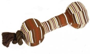 Karlie Senior Hundespielzeug Hantel mit Seil