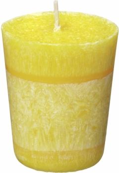 Stearin Votivkerze Zitrone