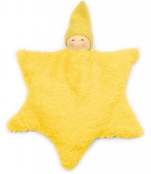Nanchen Dinkel-Wärmekissen Stern gelb Bio