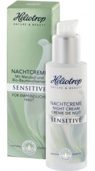 Heliotrop Sensitive Nachtcreme 50ml