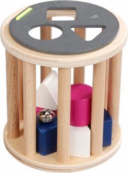 Kikadu Sortierspiel Holz Sortierrolle