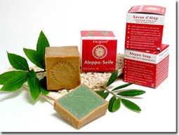 Aleppo Seife mit 16% Lorbeer 100g