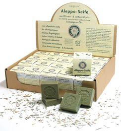 Aleppo Seife mit Lemongrasöl 100g