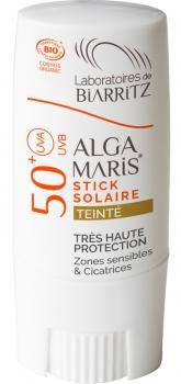 Alga Maris Sonnenschutz Stick getönt LSF50 9g