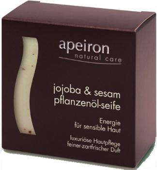 Apeiron Jojoba & Sesam Pflanzenölseife 100g