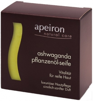 Apeiron Ashwaganda Pflanzenölseife 100g