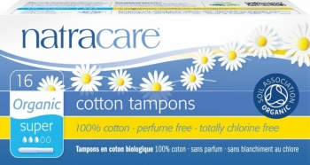 Natracare Tampons Super mit Applikator
