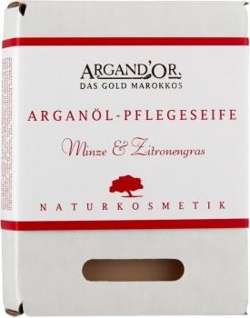 Argand'Or Arganöl Pflegeseife Minze & Zitronengras 100g