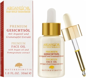 Argand'Or Gesichtsöl Argan & Granatapfel 30ml