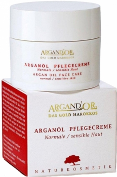 Argand'Or Pflegecreme normale & sensible Haut 50ml