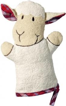 Bio Kinder Waschhandschuh Schaf
