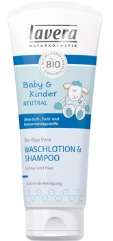 Lavera Baby & Kind Neutral Waschlotion Shampoo 200ml