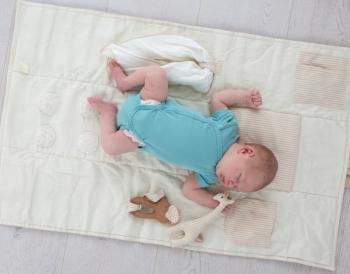 Bio Baby Krabbeldecke zum Mitnehmen