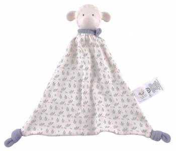 Baby Schmusetuch Lamm mit Naturkautschuk