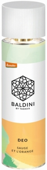 Baldini Deospray Sauge et Orange 70ml