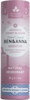 Ben & Anna Deo Stick Sensitive Cherry Blossom 60g