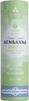 Ben & Anna Deo Stick Sensitive Lemon 60g