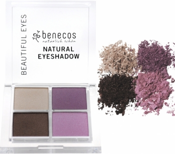 Benecos Lidschatten Quattro beautiful eyes 8g