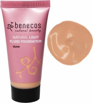 Benecos Light Fluid Foundation dune 30ml