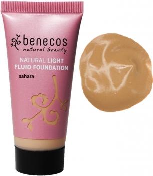Benecos Light Fluid Foundation sahara 30ml