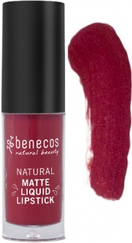 Benecos Liquid Lipstick matt bloody berry 5ml