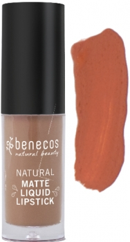 Benecos Liquid Lipstick matt desert rose 5ml